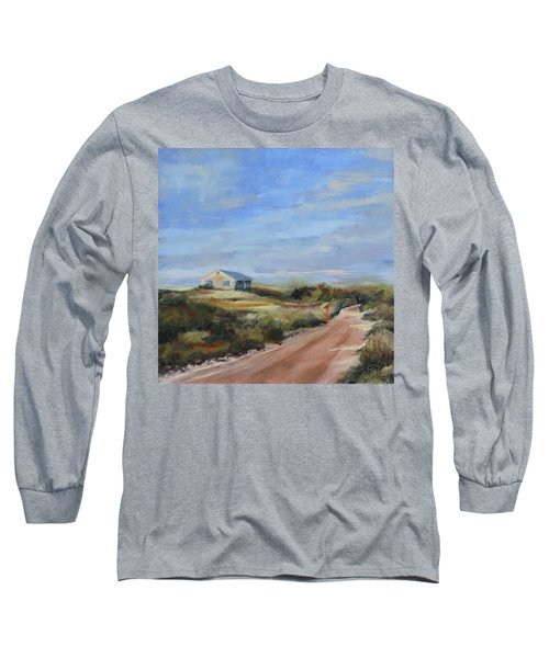 Sunlight's Coming Long Sleeve T-Shirt by Trina Teele