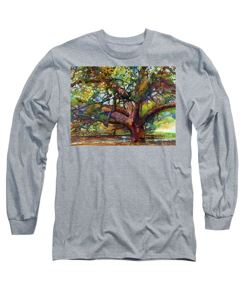 Sunlit Century Tree Long Sleeve T-Shirt
