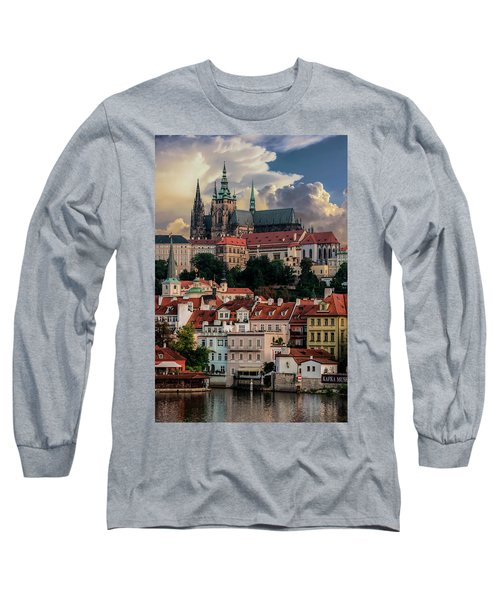 Sunny Afternoon In Prague Long Sleeve T-Shirt