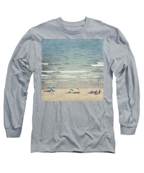Sunny Day At North Myrtle Beach Long Sleeve T-Shirt