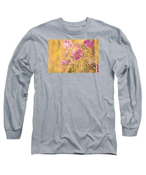 Sunny Garden 3 Long Sleeve T-Shirt by Bonnie Bruno