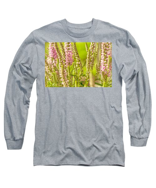 Sunny Lupine Long Sleeve T-Shirt by Bonnie Bruno