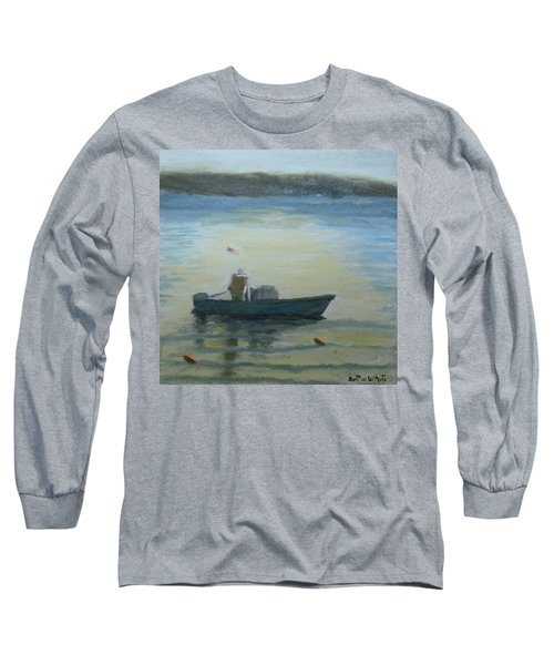Sunny Morning And Lobster Long Sleeve T-Shirt