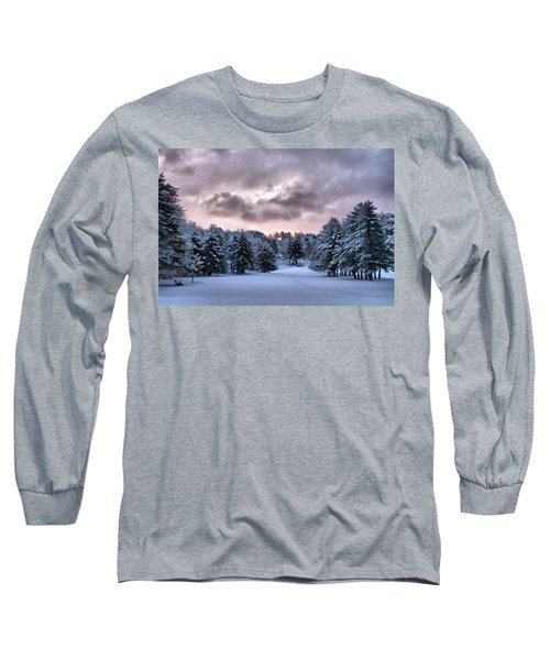 Sunrise After The Snow  Long Sleeve T-Shirt by Betty Pauwels