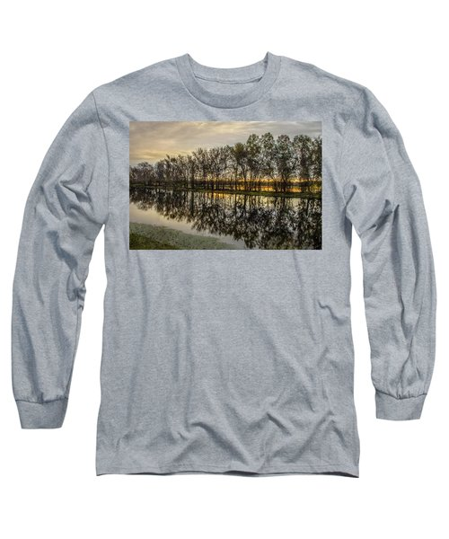Sunrise At Brazos Long Sleeve T-Shirt