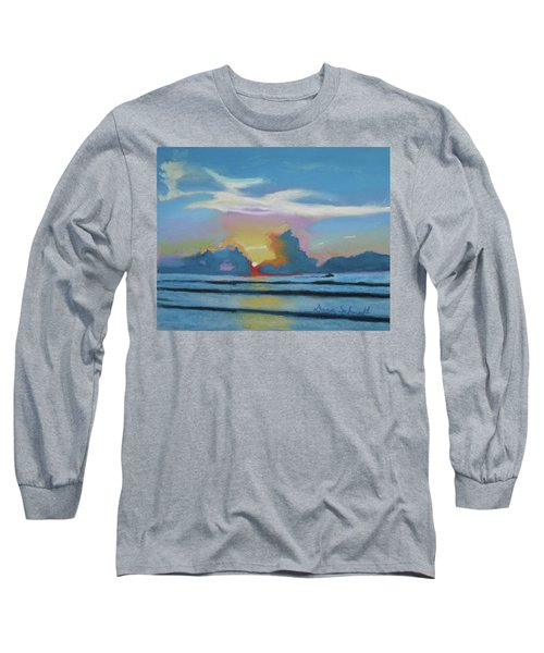 Sunrise At Cape Canaveral Beach Long Sleeve T-Shirt
