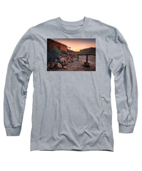 Sunrise At Contrabando Long Sleeve T-Shirt