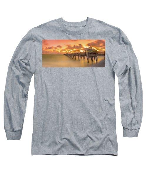 Sunrise At Juno Beach Long Sleeve T-Shirt