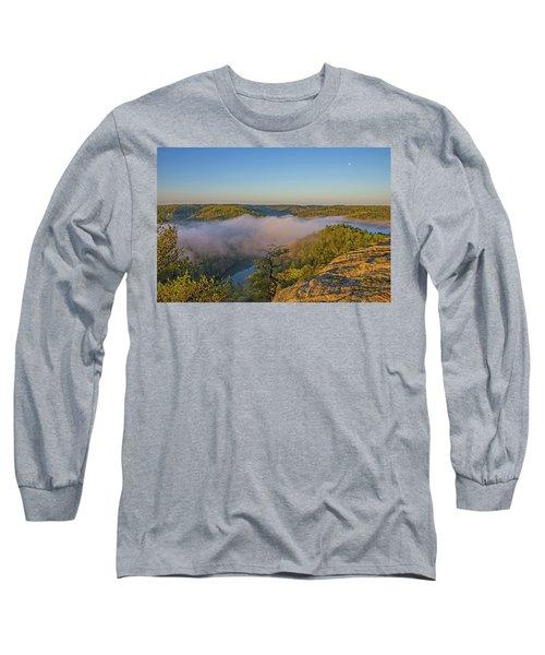 Sunrise At Mill Creek Lake. Long Sleeve T-Shirt by Ulrich Burkhalter
