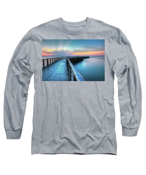 Sunrise At Sebastian Inlet Long Sleeve T-Shirt