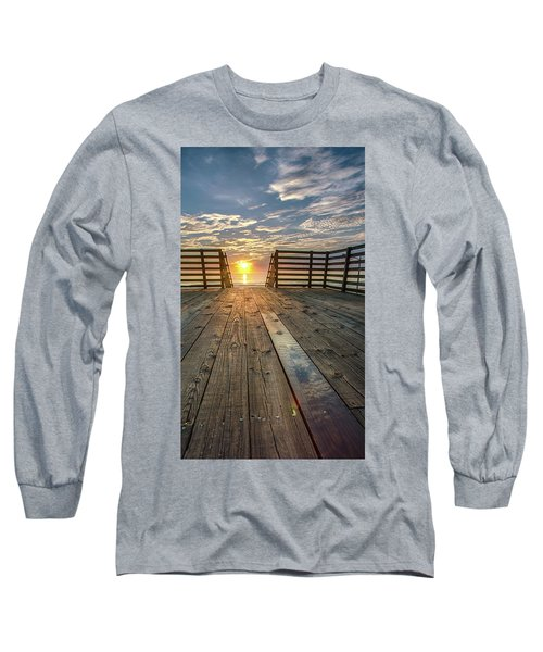 Sunrise Boardwalk Long Sleeve T-Shirt