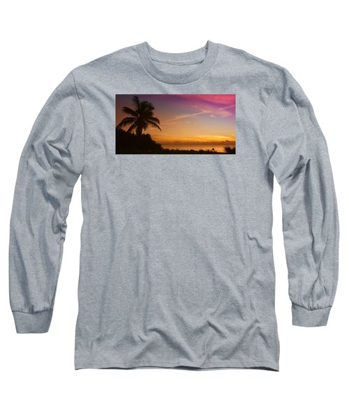 Long Sleeve T-Shirt featuring the photograph Sunrise Color by Don Durfee