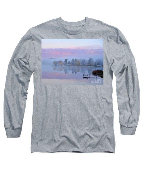 Sunrise Comes To Stoneledge Lake Long Sleeve T-Shirt