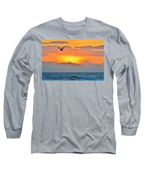 Sunrise In Nags Head Long Sleeve T-Shirt