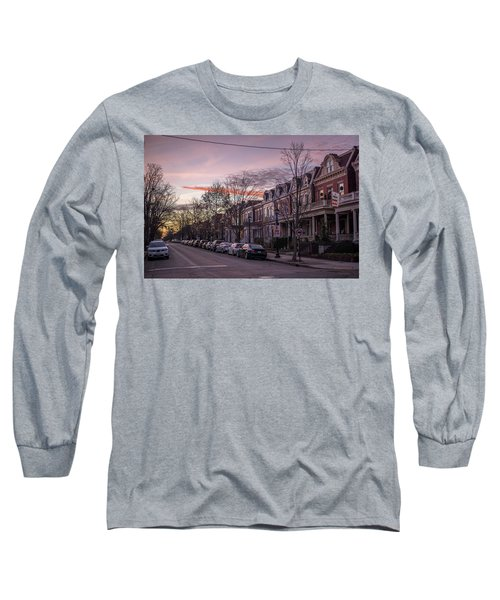 Sunrise In The Fan Long Sleeve T-Shirt