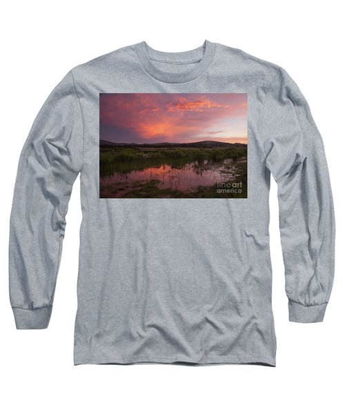 Sunrise In The Wichita Mountains Long Sleeve T-Shirt