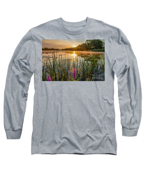 Sunrise Kent Lake Long Sleeve T-Shirt by Patrick Shupert