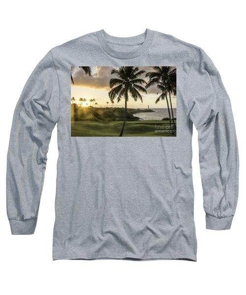 Sunrise Ninini Point, Kauai Long Sleeve T-Shirt