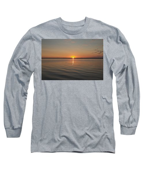 Long Sleeve T-Shirt featuring the photograph Sunrise On Seneca Lake by William Norton