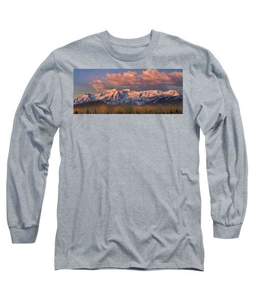 Sunrise On Timpanogos Long Sleeve T-Shirt
