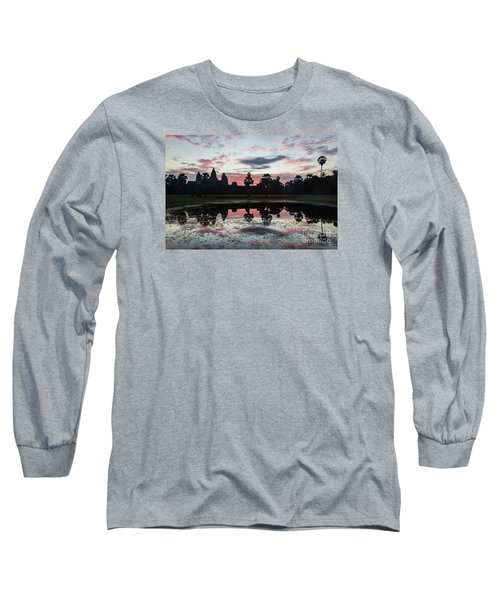 Sunrise Over Angkor Wat Long Sleeve T-Shirt