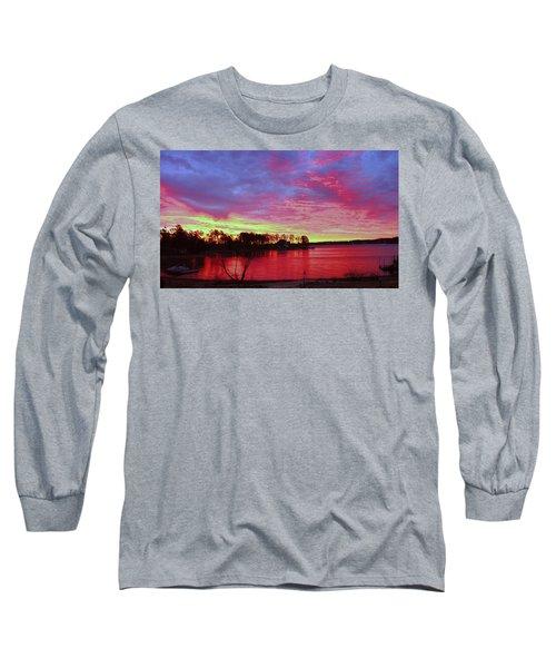 Sunrise Over Lake Murray Long Sleeve T-Shirt