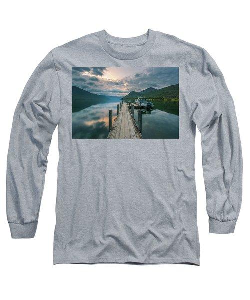 Sunrise Over Lake Rotoroa Long Sleeve T-Shirt