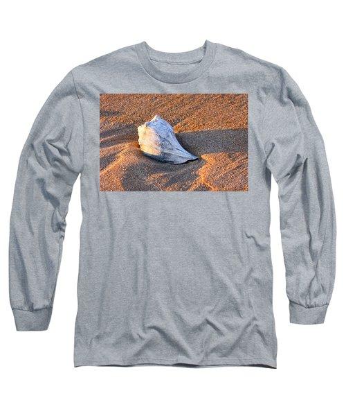 Sunrise Seashell Long Sleeve T-Shirt by Allan Levin