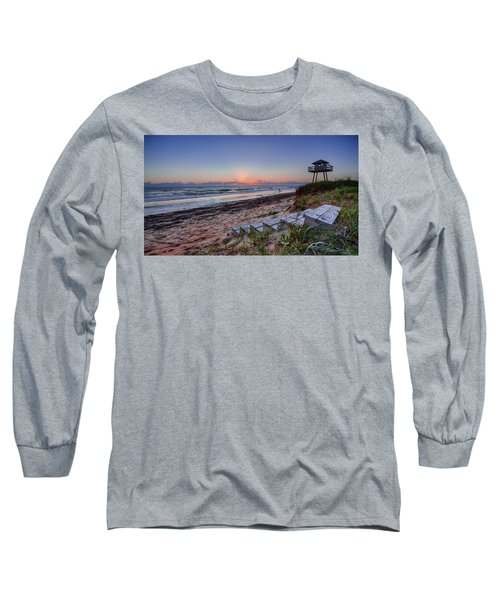 Sunrise Stairs Long Sleeve T-Shirt