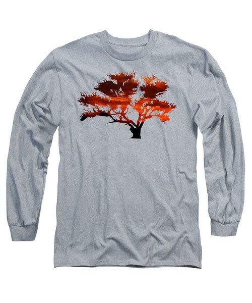 Sunrise Tree 2 Long Sleeve T-Shirt