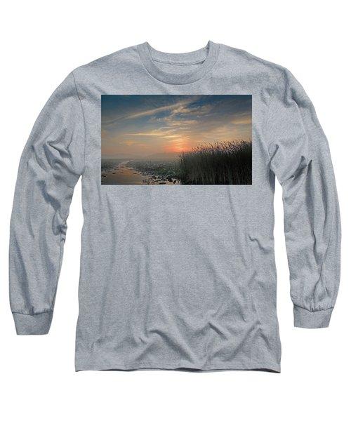 Sunrise Through The Fog Long Sleeve T-Shirt