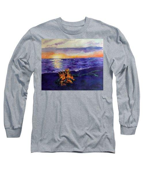 Sunset, Angola On The Lake Long Sleeve T-Shirt