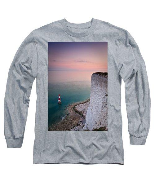 Sunset At Beachy Head Long Sleeve T-Shirt