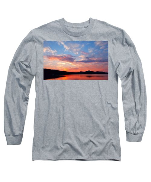 Sunset At Ministers Island Long Sleeve T-Shirt