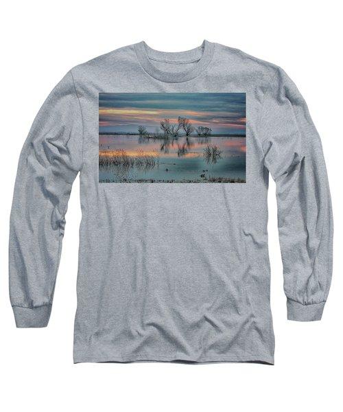 Sunset At San Luis   Long Sleeve T-Shirt