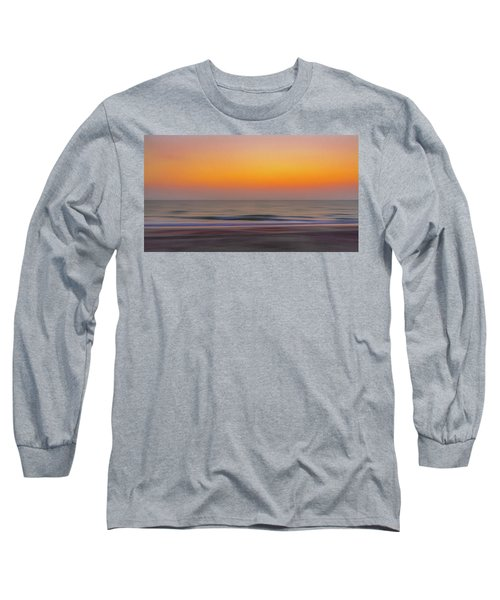 Sunset At The Beach Long Sleeve T-Shirt