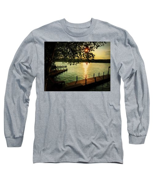 Sunset Bay Long Sleeve T-Shirt by Betty Pauwels