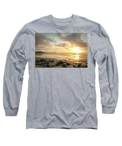 Sunset Beach Delight Long Sleeve T-Shirt