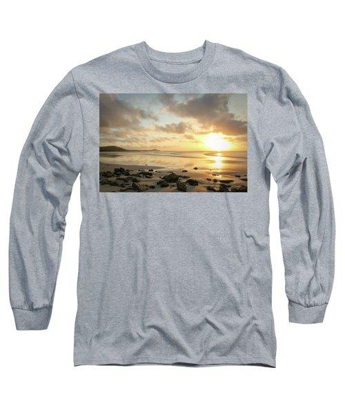 Sunset Beach Delight Long Sleeve T-Shirt