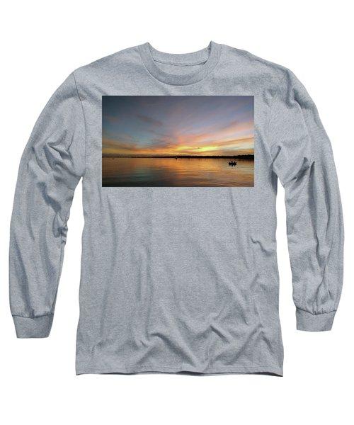 Sunset Blaze Long Sleeve T-Shirt