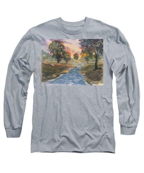 Sunset Boulevard Long Sleeve T-Shirt