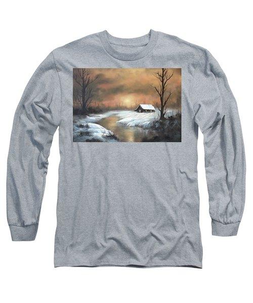 Sunset Cabin  Long Sleeve T-Shirt