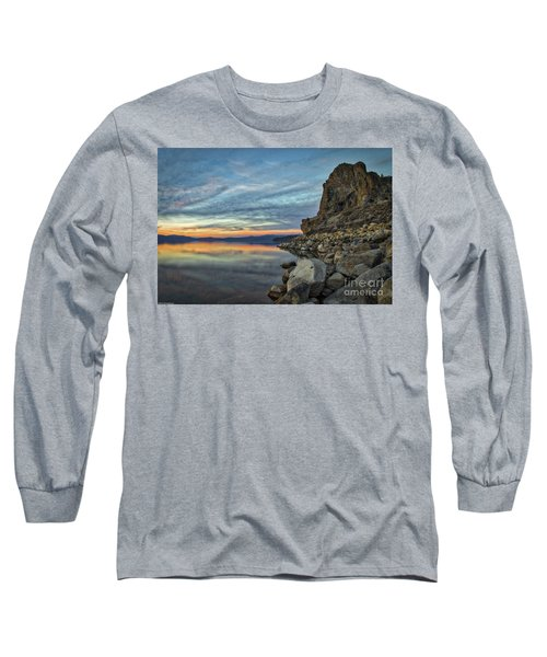 Sunset Cave Rock 2015 Long Sleeve T-Shirt
