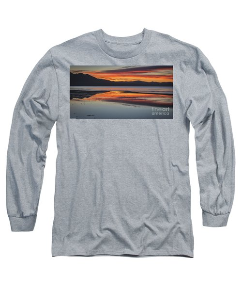 Long Sleeve T-Shirt featuring the photograph Sunset Colors by Mitch Shindelbower