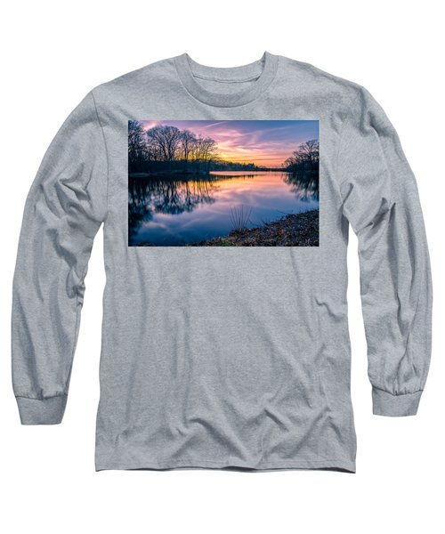 Sunset-dorothy Pond Long Sleeve T-Shirt