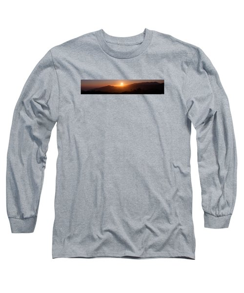 Sunset From Marine Headlands San Francisco Long Sleeve T-Shirt