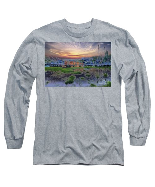 Sunset Harbor Dream Long Sleeve T-Shirt