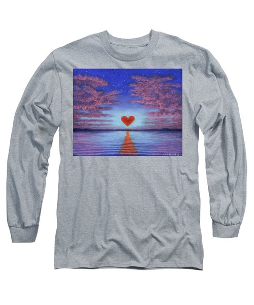Sunset Heart 02 Long Sleeve T-Shirt