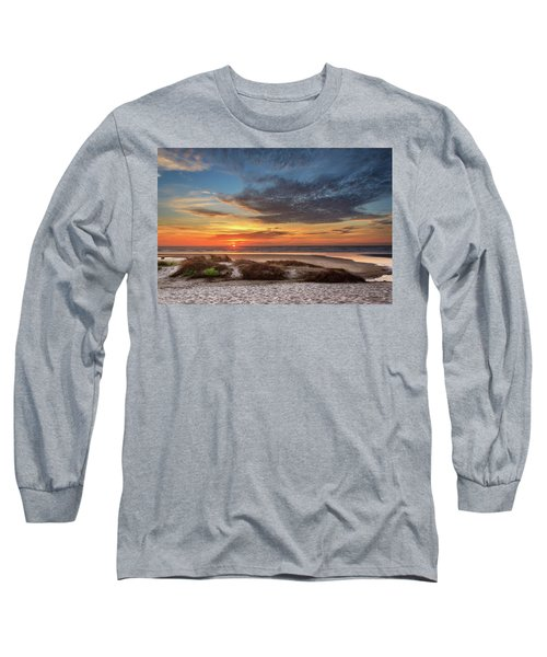 Long Sleeve T-Shirt featuring the photograph Sunset In Florence by James Eddy