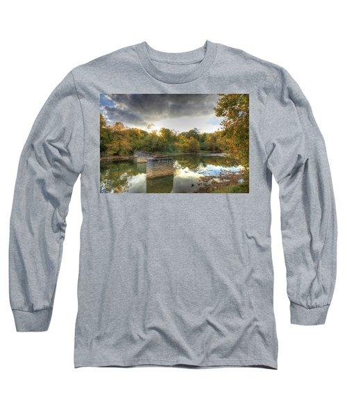 Sunset In Murphy Long Sleeve T-Shirt by Sharon Batdorf